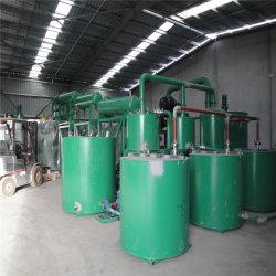 Resíduos de óleo vegetal de destilação de vácuo do sistema de regeneração de óleos minerais Preto Zsa-10