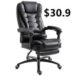 Эргономичная Fabic Силла поворотный игры гонки Offce кресло с откидной спинкой из натуральной кожи