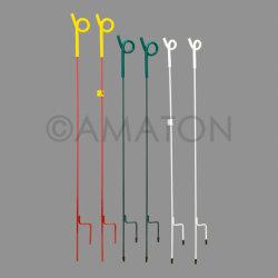 鋼鉄ピグテールのポストの電気塀のピグテールのポスト
