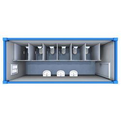 Китай/Китайские сегменте панельного домостроения и сборных конструкций для использования вне помещений дешевые роскошные современные модульные мобильные портативные общественной 20 футов 40-футовом контейнере кемпинг дом в ванной комнате дома туалет для продажи