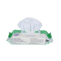 La Cina ha certificato i Wipes bagnati del bambino molle non tessuto a gettare di pulizia della fabbrica