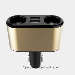Spina dell'accenditore della sigaretta dell'automobile di modi dello zoccolo di potere dell'automobile 3 con l'adattatore del caricatore dell'automobile del USB 2