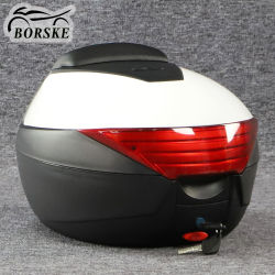 Kundenspezifischer Motorrad-Roller-Motorrad-Endstück-Kasten-Ablagekasten-Spitzenkasten-Motorrad-Gepäck-Kabel-Motorrad-Oberseite-Kasten