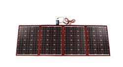 Draagbare Zonnepaneel van de Hoge Macht van het Zonnepaneel van Dokio het Flexibele Vouwbare 220W (55Wx4) Mono voor het Merk van China van het Zonnepaneel RV&Boat&Travel