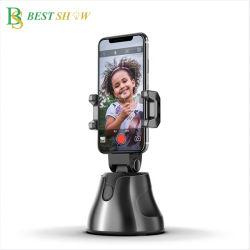 360 셀카 스마트 트래킹 컴포지션 개체 추적 카메라 지능형 카메라 실시간 비디오 녹화를 위한 삼각대 스탠드