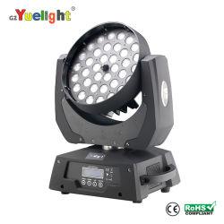 مصباح LED على الحائط لغاسلة الزجاج الأمامي 36PCS*10W كامل الألوان