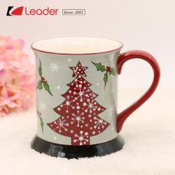 La tazza di ceramica affascinata di natale competitivo per il regalo domestico di festa e della decorazione, decora la vostra propria festa