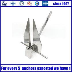 أعلى المصنعين مرآة البولندية البحرية 316 من الفولاذ المقاوم للصدأ Danforth Anchor للقوارب