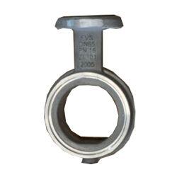 水流制御の石油およびガスの企業のためのOEMの蝶Bamper弁の版の鋳鉄