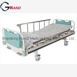 Fábrica de Equipamentos hospitalares Manual de ABS Trepidação Duplo Cama do paciente em enfermagem