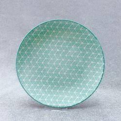 Piatto di ceramica della porcellana di figura della luna delle terraglie utilizzato ristorante