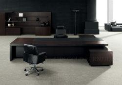 تصميم حديثة رفاهيّة مكتب طاولة مكتب تنفيذيّ [أفّيس فورنيتثر] خشبيّة
