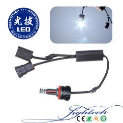 자동 LED 헤드램프를 위한 조명, 조명, 흑백 앵글 라이트