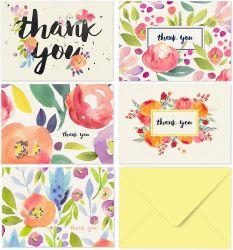 شكرت 40 خاصّ بالأزهار أنت يلاحظ لأنّ عرسك, طفلة وابل, عمل, ذكرى, وابل زفافيّ - [وتركلور] زهرة بطاقات مع أغلفة