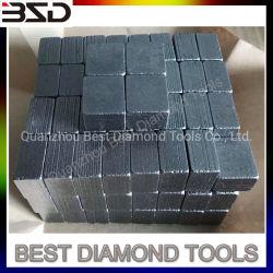 La minería el segmento de diamante de corte 24x13x20mm