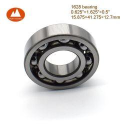 """5/8""""X1 5/8""""X1/2"""" pouce 1628 ouvert, simple rangée radiale du roulement à billes à gorge profonde pour le moteur de pompe du ventilateur de Bureau de l'emballage de boîte de vitesses réductrice sur le jardin de l'industrie de la machine"""