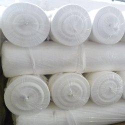 300 g de fibra curta de cor branca Geo não têxteis tecidos de malha de poliéster