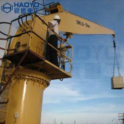 ABS/CCS/BV販売のための堅いブームの容器の海洋クレーン