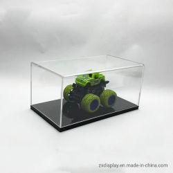 Bijoux en plexiglas transparent en acrylique jouet Boîte d'affichage de modèle
