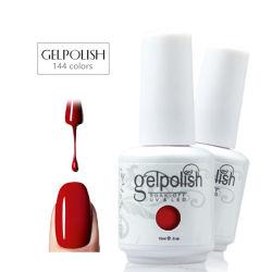 15ml는 Gelpolish 색깔 UV 젤 폴란드인 공장 도매 못 접착제 떨어져 적신다