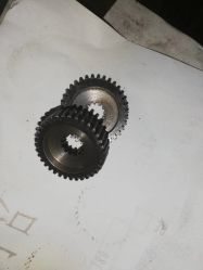Usinagem CNC de alta precisão têmpera por indução de dente da engrenagem da transmissão