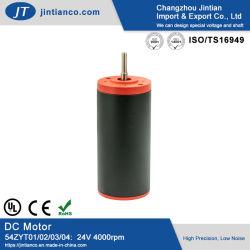54mm 12 V/24V Changzhou elektrische PMDC-motor voor tondeuse, stimulator, trilfunctie
