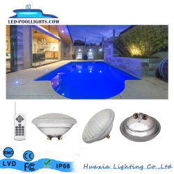 Waterdichte IP68 Wireless Remote 12V PAR56 LED Swimming Pool Light