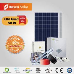 تم تزويد الطاقة المنزلية بقدرة 5 كيلوواط بقدرة 10 كيلوواط على الشبكة بقوة 5000 واط والطاقة الشمسية سعر نظام الطاقة