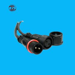 Wasserdichter 2pin LED Draht-Verbinder-Klemmenleiste-Verbinder