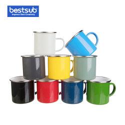 Сублимация Bestsub пустым 12oz эмаль чашку для приготовления чая и кофе чашку (TC03N)