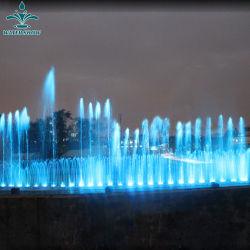 Projetos personalizados Garden Pond grande música de água da fonte de dança