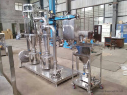 QS100 Tipo de Disco Horizontal Jet Mill/ Lab Mill