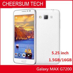 Оригинальные разблокирован Galaxy Grand Max G7200 16ГБ диск 1,5 ГБ ОЗУ 5,25 дюйма 13.0MP Lte с двумя SIM-карты обновлены сотового телефона