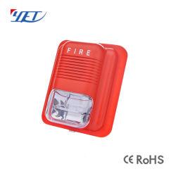 ISO9001 LED ライトフラッシュ付き中国用従来型火災警報ストロボサイレン Yet628