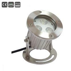 3X3W 316 ss R/G/B/W/Y/RGB LED Подводные лампы проектора