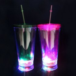 Acende Copa basculante de plástico transparente