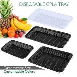 Мире биоразлагаемую бутылку для PLA лоток для упаковки продуктов питания/фрукты и овощи и мясо