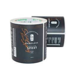 Cmyk die het Transparante VinylEtiket van het Broodje van de Fles van Stickers Kosmetische Verpakkende, Kleefstof afdrukken Aangepaste Printer voor Kosmetische Producten