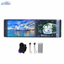 Авто Betterway 4.1 дюймовых стерео 1DIN Аудиосистема автомобиля видео MP3/MP4/MP5/FM-Android автомобильный DVD проигрыватель мультимедиа с ПДУ на рулевом колесе + 4 светодиод камеры заднего вида