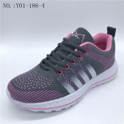 Nuevo Estilo de la Moda Sport Casual Zapatos Sneakers Zapatos para Niños (Y01-186-4)