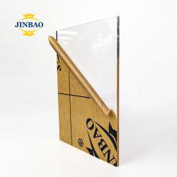 Jinabo estándar de fábrica de tamaños de lámina de acrílico Serigrafía en lámina de acrílico acrílico de Color de la hoja de carta