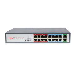 Горячие продажи 18-портовый регулировку скорости 100/1000Мбит/с Ethernet