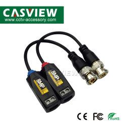 8MP 5MP HD videoBalun für CCTV-Kamera-Überwachungssystem-passives kein Energieerforderlicher videobalun-Lautsprecherempfänger BNC UTP RJ45