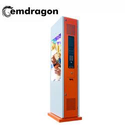 Tela Vertical Desembarque duplo ecrã Gate máquina de publicidade exterior 37 polegadas super fino Hotel Lobby LED Wireless 3G no fotograma de vídeo digital eletrônica de TV