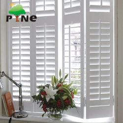De bonne qualité de niveau d'apparence de Nice sur Niveau personnalisé Plantation en PVC stores de fenêtre du rouleau de l'obturateur