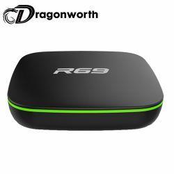 Телеприставка R69 Allwinner H3 1g 8g 2.4G WiFi спутниковое ТВ приемник Quad Core Android видео 1080 HD Allwinner H3 Bt 7.1 Android окно Видео в формате Full HD