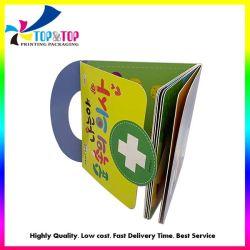 Libro su ordinazione della scheda della casella di storia dei bambini con la maniglia