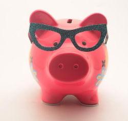 Logo OEM Ceramic decorative Craft Piggy Money Bank per promozione Regalo