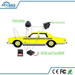 De Kaart Mobiele DVR H 264 van de taxi BR Digitale Videorecorder met de Camera van de Visie van de Nacht