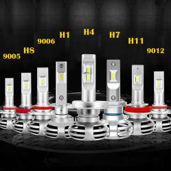 9005 alquiler de la luz de niebla Auto Canbus H4 LED Lámpara de faro